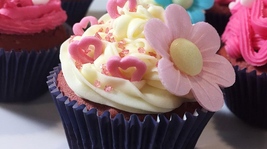 Red Velvet cupcakes for Valentines