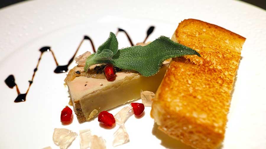 Foie gras paté voor culinair genot