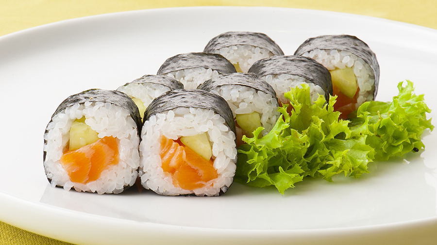 Sushi recipe by Vacuvita