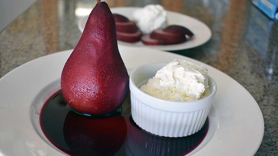 sous vide pear vacuvita