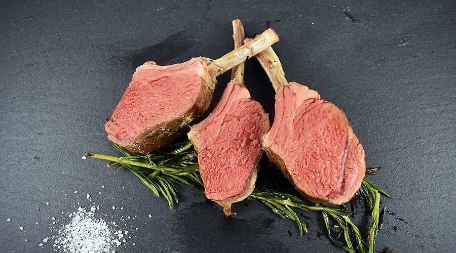 Sous vide rack of lamb made easy
